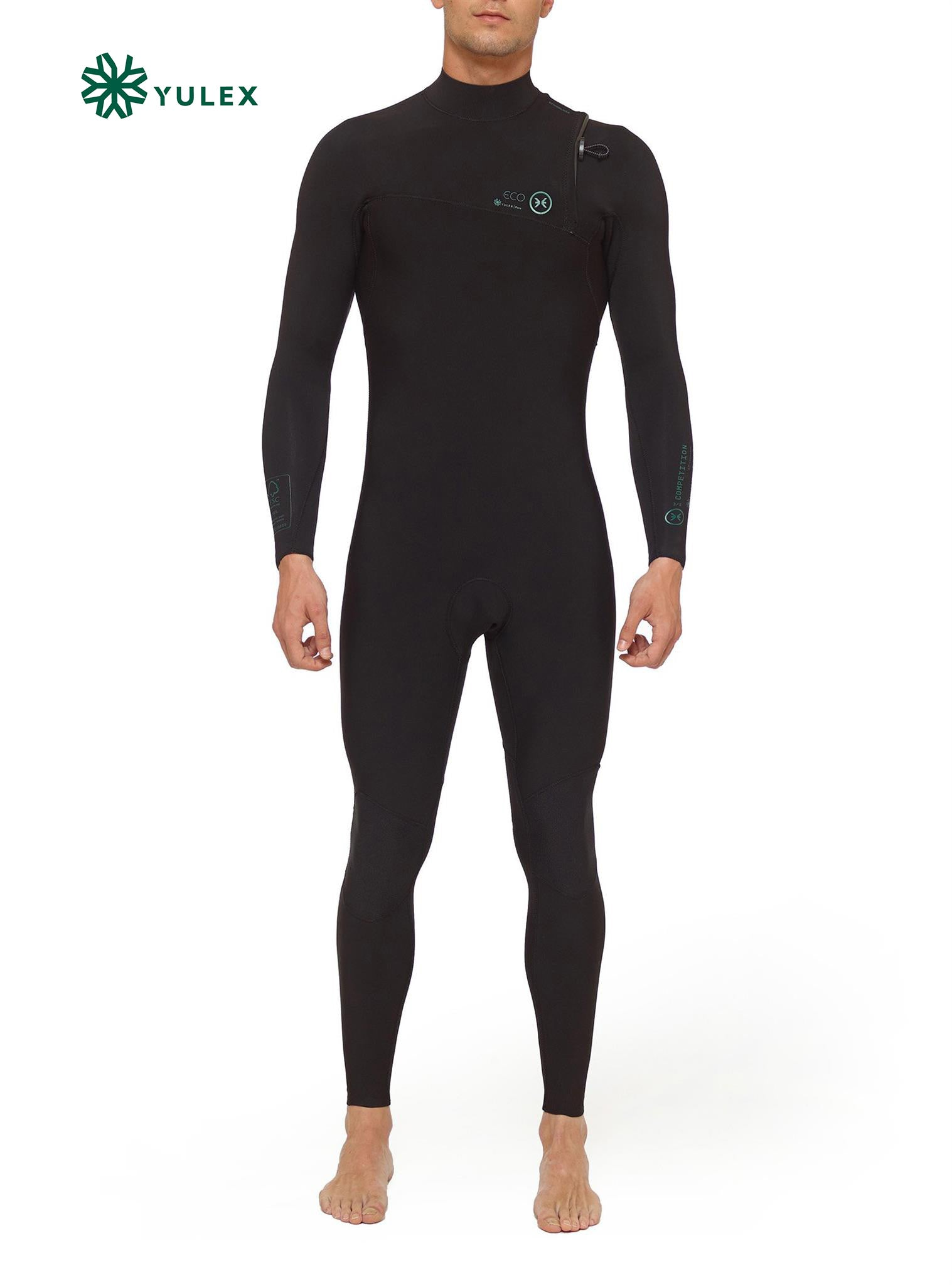 Combinaisons De Surf Homme Competition Yulex 4/3 Zipperless Noir