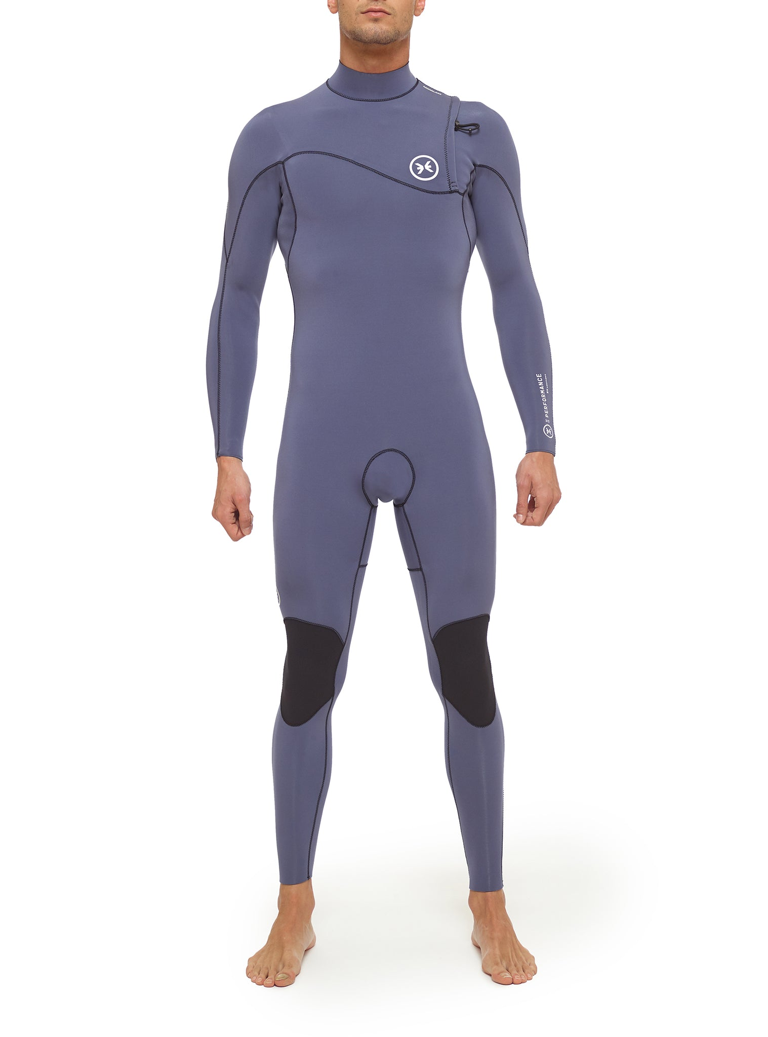 Combinaisons De Surf Homme Performance 3/2 Zipperless Bleu