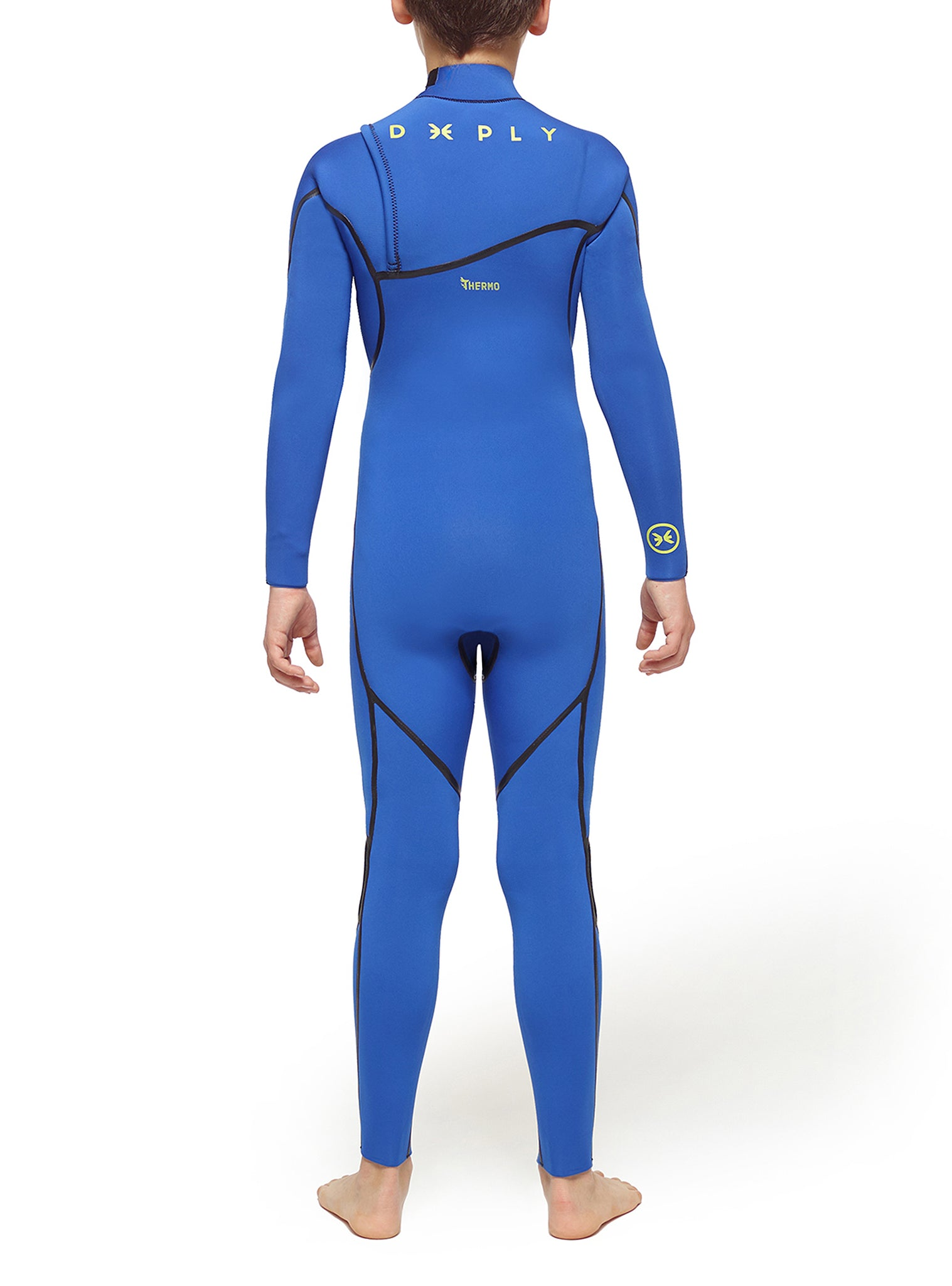 Combinaisons De Surf Junior Performance 4/3 Zipperless Bleu Foncé