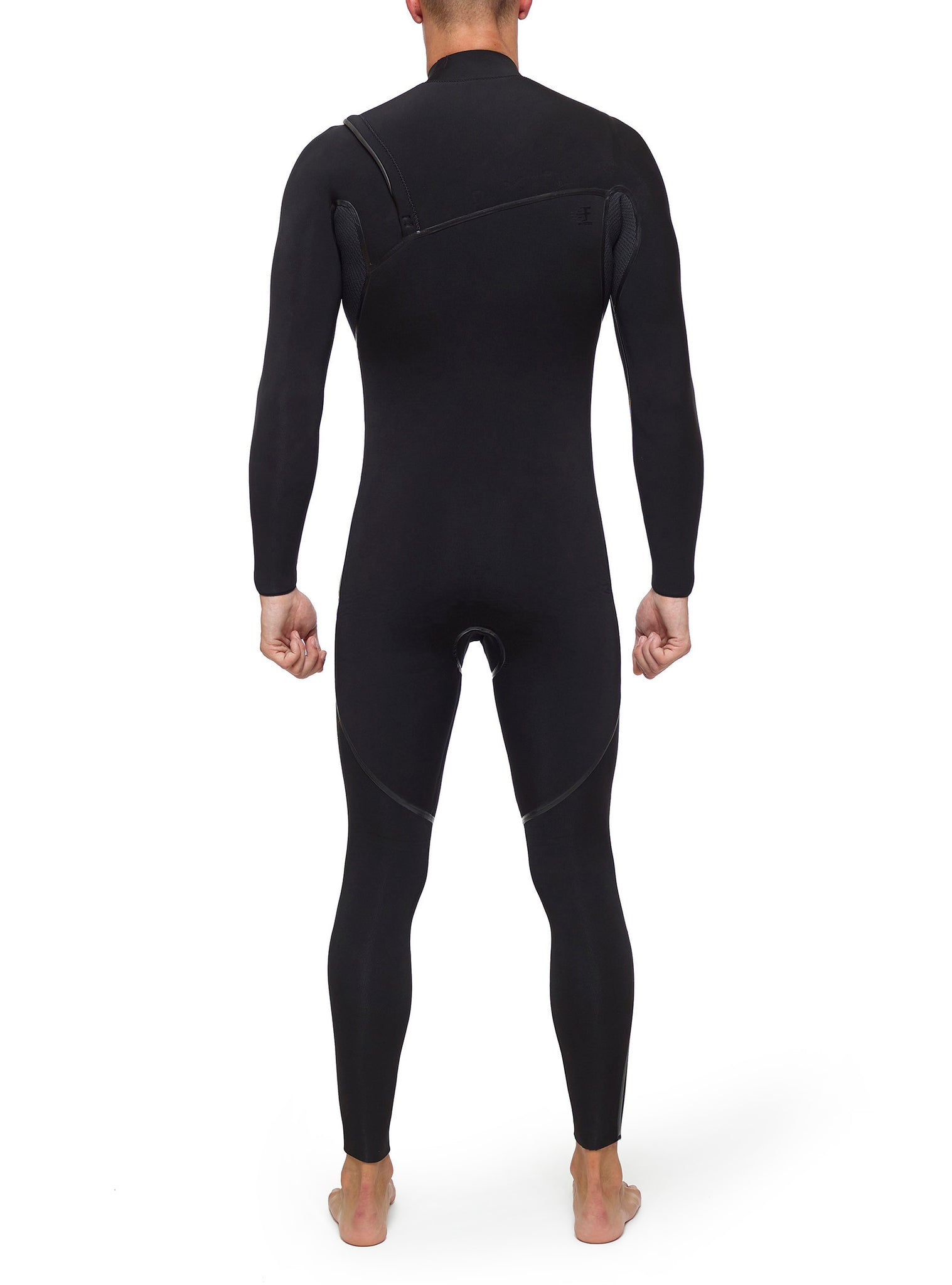 Combinaisons De Surf Homme Competition 5/3 Chest Zip Noir