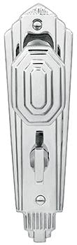 DELF ARCHITECTURAL EDWARDIAN 'ART DECO' LATCH FURNITURE (Privacy Set # 201 installed