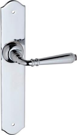 Tradco 'REIMS' LEVER LATCH Chrome 240mm x 40mm 0777