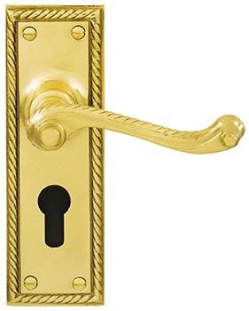 DELF ARCHITECTURAL LEVER'EURO'CYLINDER LOCK FURNITURE