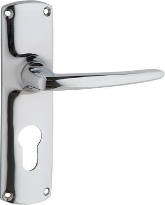 Tradco 'RETRO' LEVER LATCH Chrome 150mm x 40mm 0820