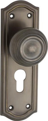 Tradco Solid Brass Knobs & Levers - Kensington 0857