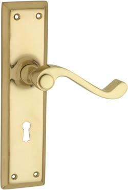 Tradco Solid Brass Knobs & Levers - Milton 1005