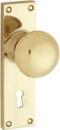 Tradco Solid Brass Knobs & Levers - Victorian 1036