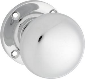 Tradco 'VICTORIAN' MORTICE KNOB Chrome Plate 57mm 1040