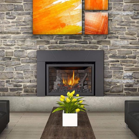 Napoleon X3 Masonry Gas Fireplace Package
