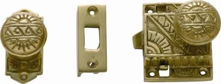 Tradco Tube Latches & Privacy Turns - Screen Door Latch 1190