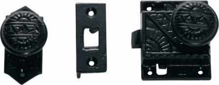 Tradco Tube Latches & Privacy Turns - Screen Door Latch 1192