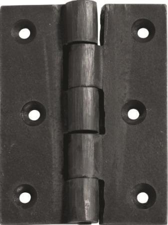 Tradco 'CAST IRON HINGE' Antique Finish 65 x 89mm 1240