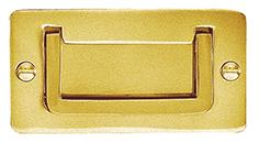 DELF ARCHITECTURAL FLUSH HANDLE 118*59MM-MILITARY