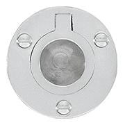 DELF ARCHITECTURAL CP    FLUSH RING - 50MM DIAMETER D1244C