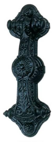Tradco 'DOOR KNOCKER' Matt Black 1270 230mm x 80mm