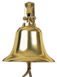 Tradco 'SHIPS BELL' Polished Brass 1291 125mm
