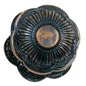 Tradco 'CENTRE DOOR KNOBS' Antique Copper 80mm 1304
