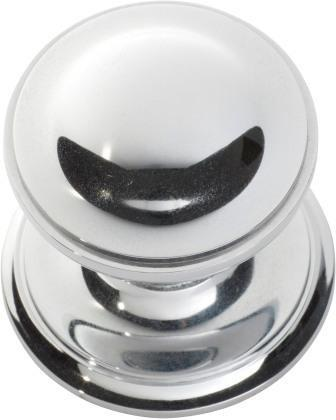 Tradco 'CENTRE DOOR KNOB' Chrome Plate 85mm 1308