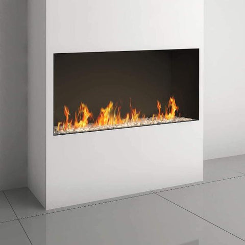 Ortal Front Facing Clear 130H Gas Fireplace