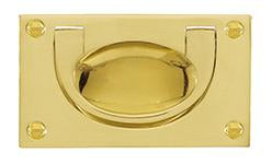 DELF ARCHITECTURAL FLUSH DROP HANDLE 118*60MM