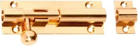 Tradco 'BARRELL BOLT' Polished Brass 1406 75mm x 25mm