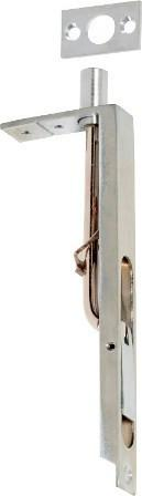 Tradco 'FLUSH BOLT' Satin Chrome 1439 150mm
