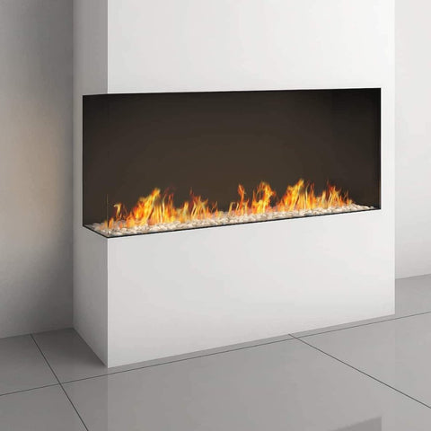 Ortal Corner Clear 150H Right/Left Side Gas Fireplace