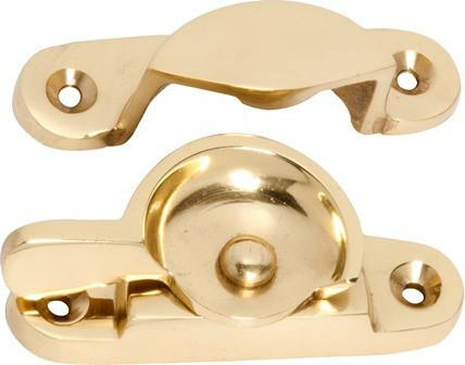 Tradco 'FITCH FASTENER CLASSIC' Polished Brass 1600 65mm x 21/25mm