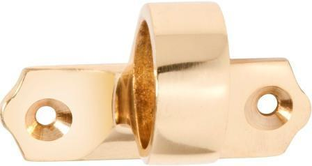 Tradco 'SASH EYE OFFSET' Polished Brass 1630 49mm x 32mm