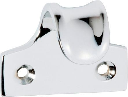 Tradco 'SASH LIFT DISHED' Chrome Plate 1657 45mm x 38mm