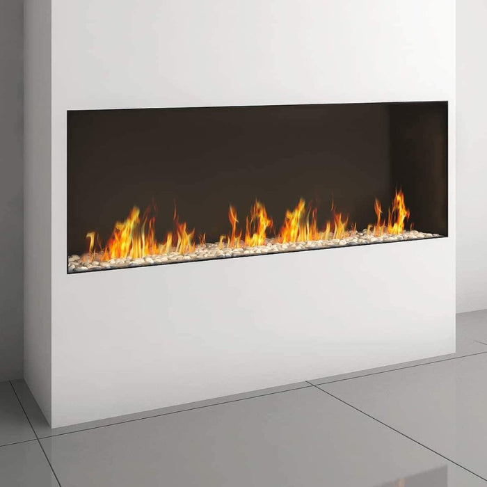 Ortal Front Facing Clear 170H Gas Fireplace