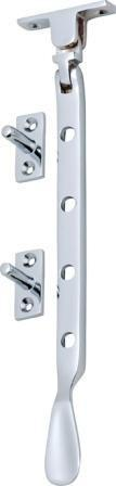 Tradco 'CASEMENT STAY' Chrome Plate 200mm 1717