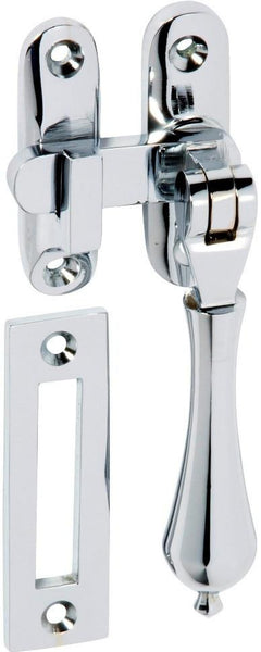 Tradco 'CASEMENT FASTENER-LONG THROW' Chrome Plate 1751 95mm x 35mm