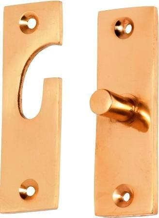 Tradco 'FANLIGHT SWIVEL' Polished Brass 23mm x 73mm 1780