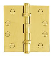 DELF ARCHITECTURAL 88*88MM BUTTON TIP L/P BALLBEARING HINGE D1781