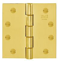 DELF ARCHITECTURAL 102*102MM PHOS.BRASS WASHER HINGE D1791