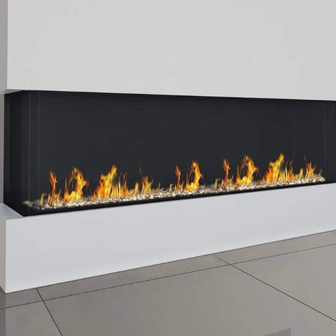 Ortal Corner Clear 250 Right/Left Side Gas Fireplace