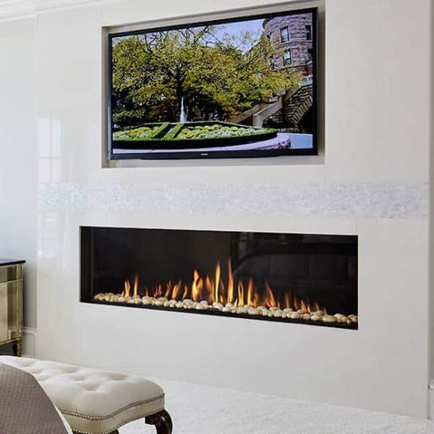 Ortal Front Facing Clear 200H Gas Fireplace