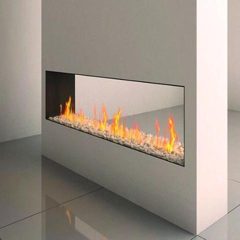 Ortal Tunnel Clear 200H Gas Fireplace