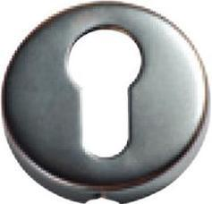Tradco 'SHEET BRASS' EURO ESCUTCHEON Antique Copper 50mm 2041