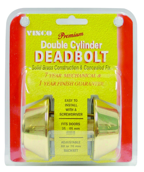 Vinco 210SCV Dead Bolts
