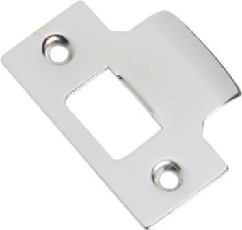 Tradco 'TUBE LATCH STRIKER' Chrome Plate 2115 42mm x 56mm
