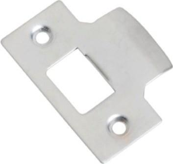 Tradco 'TUBE LATCH STRIKER' Satin Chrome 2117 42mm x 56mm