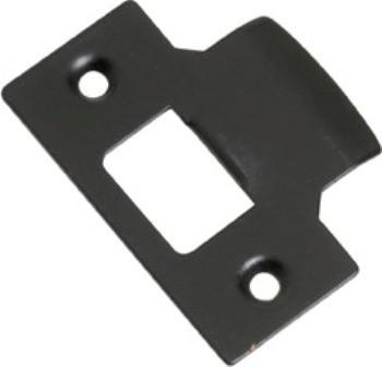 Tradco 'TUBE LATCH STRIKER' Matt Black 2119 42mm x 56mm