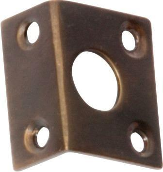 Tradco 'RIGHT ANGLE KEEPER' Antique Brass 2336