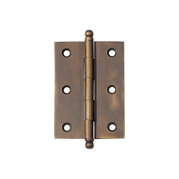 Tradco 'HINGE - LOOSE PIN' Antique Brass 2375 85mm x 60mm