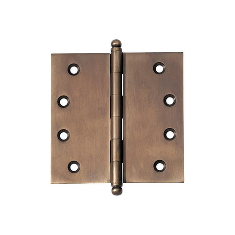 Tradco 'HINGE - LOOSE PIN' Antique Brass 2379 100mm x 100mm