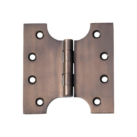 Tradco 'HINGE - PARLIAMENT' Antique Brass 2380 100mm x 100mm