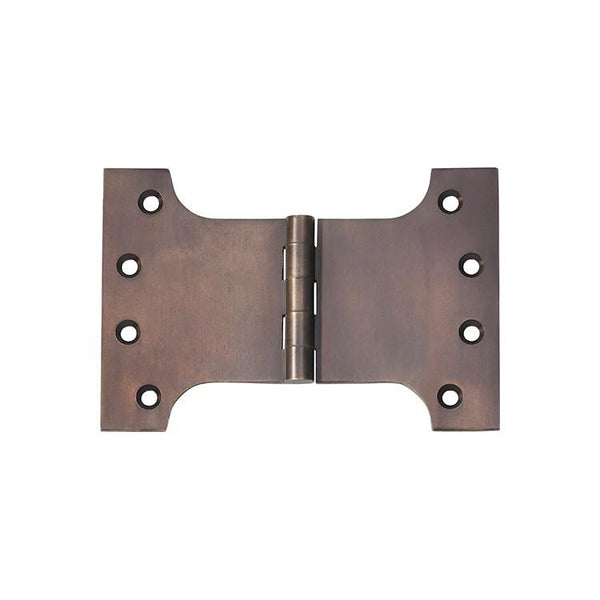 Tradco 'HINGE - PARLIAMENT' Antique Brass 2382 100mm x 150mm