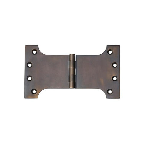 Tradco 'HINGE - PARLIAMENT' Antique Brass 2383 100mm x 175mm